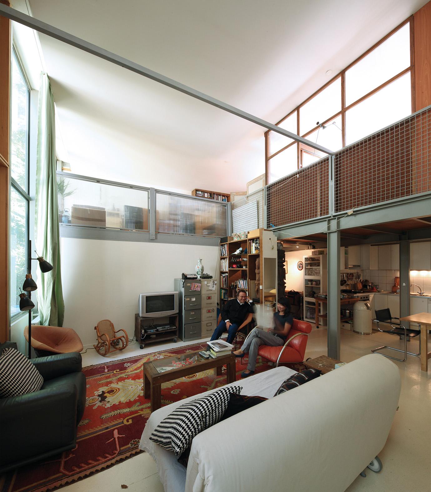 Chassis Atelier D Artiste cinq ateliers logements d'artistes – jfs architectes